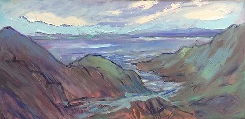"""Low Tide – Kamouraska, 30x15"""""""