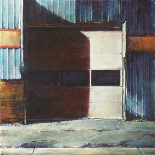 Street Light, Garage Door