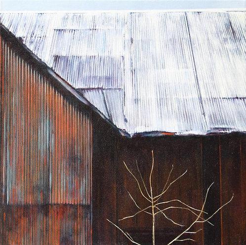 Bare Tree & Barn
