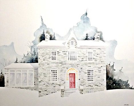 Clyde Hall Lanark (16x20)