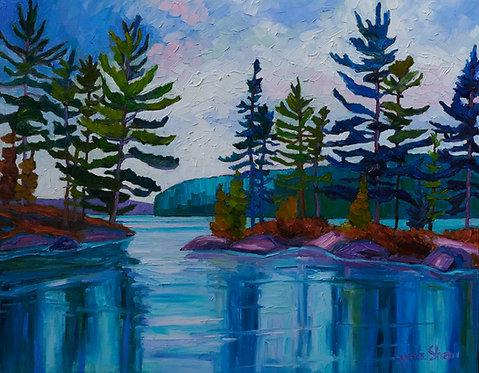 "Shiningwood Bay View- 28x22"""