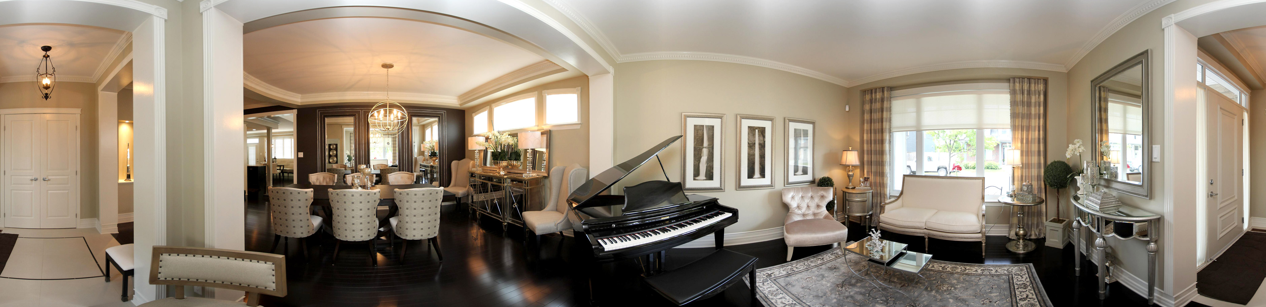Residential Home Design  - Panorama