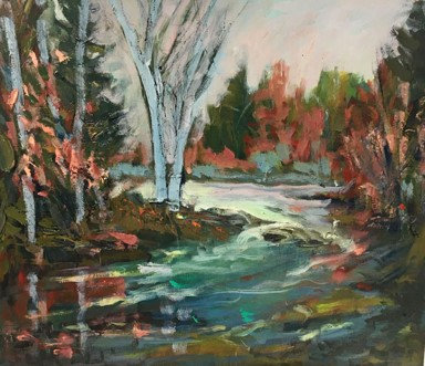 Fall on the Madawaska River
