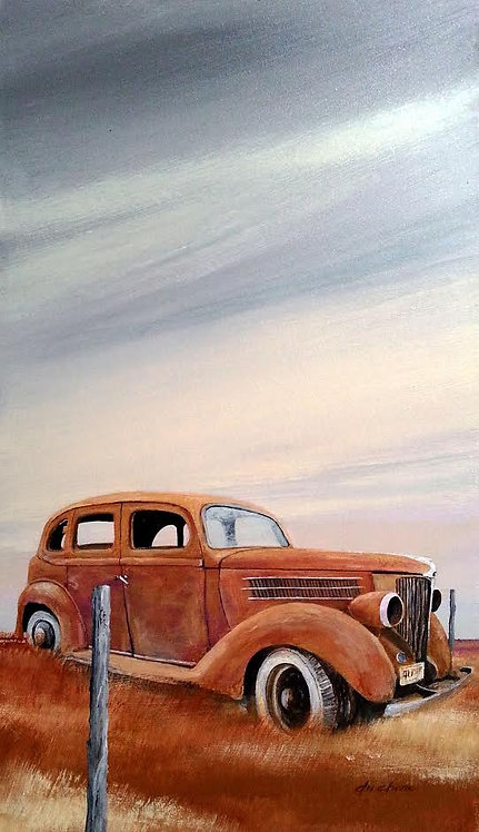 Postmarked Ford 1936