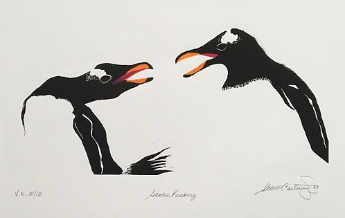 """Gentoo Rookery, Varied Edition #15 of 15-12x9"""""""