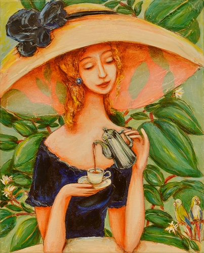 """""""Coffee in the Garden"""""""