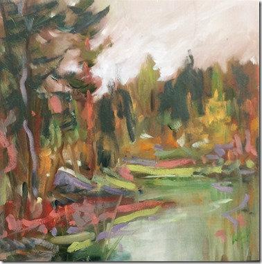Autumn Reflections – Foley Mountain