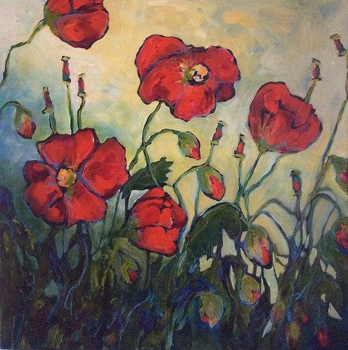 Garden Poppies, Col. 5