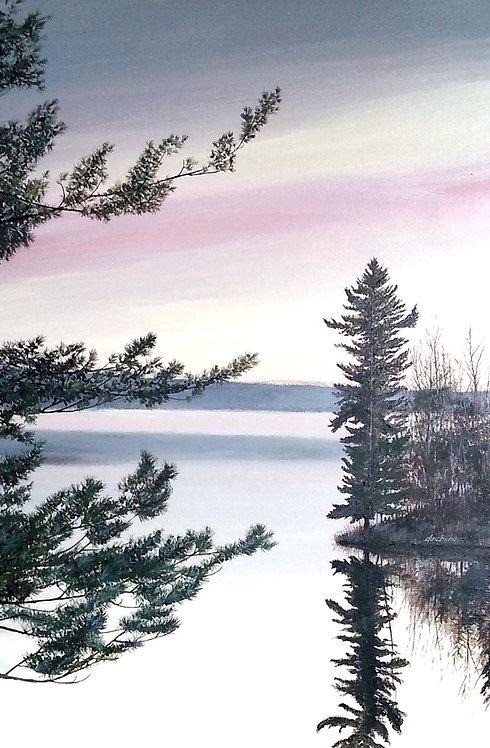 View Across (Kennebec Lake)