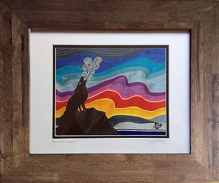 """Mourning Sunset-8x10"""""""