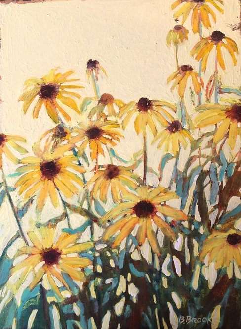 "Black-eyed Daisy I-12"" x 16"""
