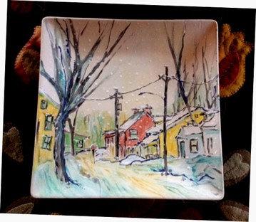 Winter Day – Mill Street, Perth