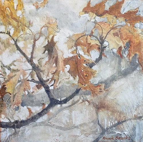 Winter Oak Boughs