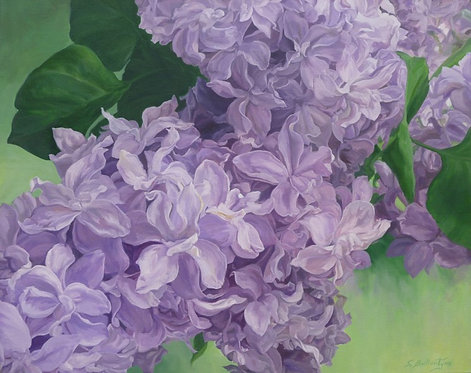 "Fragrance of Spring, 30x24x1.5"""