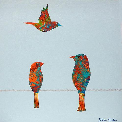 "FUNKY BIRDS XIX:RECONAISSANCE FLIGHT"""