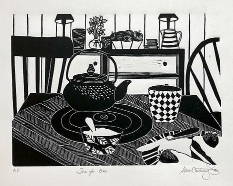 """Tea For one-19x15"""""""