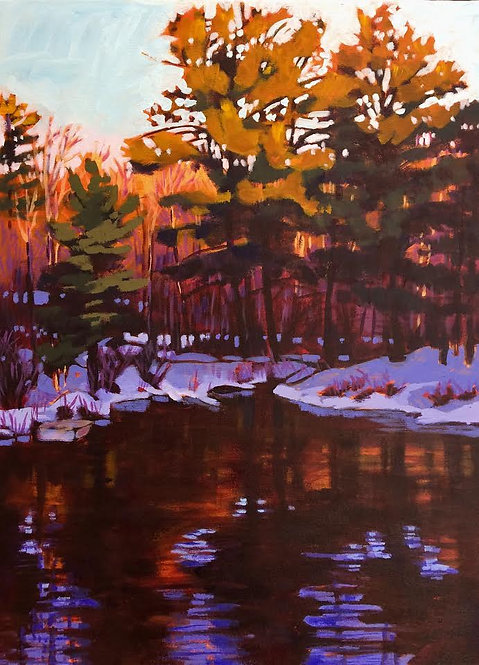 Jebb's Creek - March Sunset 18-56