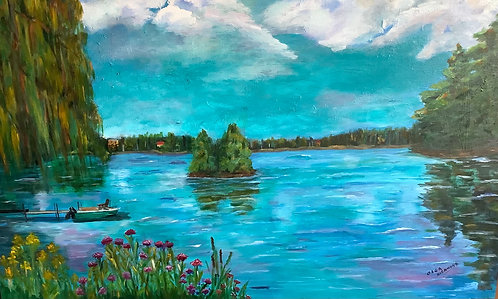 """Tranquility, 30x48"""""""
