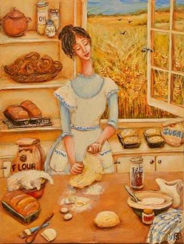 """""""Baking Bread on Lammas Eve"""""""