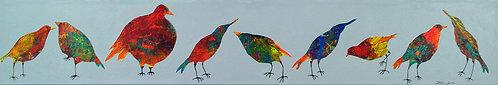 Funky Birds IX: The Neighborhood Watch