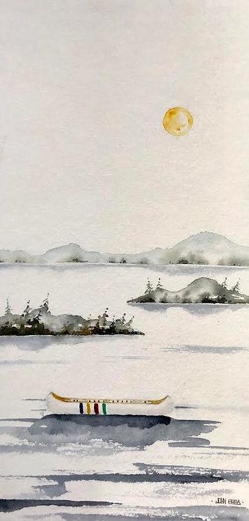 Hudson Bay Canoe