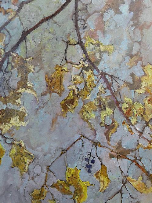 "Autumn Vine II-16x20"""