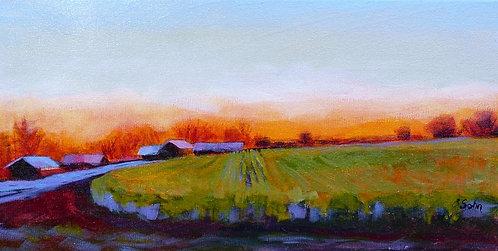 Sunset Along Hwy 7