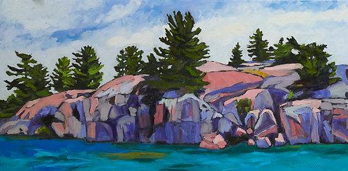 Georgian Bay Rocks Collection 3