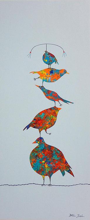 Funky Birds X: Cirque du Soleil