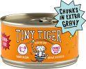 Tiny Tiger Chunks in EXTRA Gravy Turkey