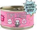 Tiny Tiger Chunks in EXTRA Gravy Salmon