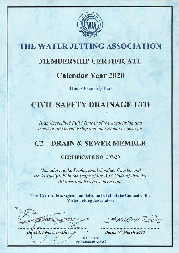 Civil Safety Drainage Ltd - C2 Drain & S