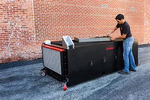Air Dynamics' Air Wolf™ Downdraft Table.