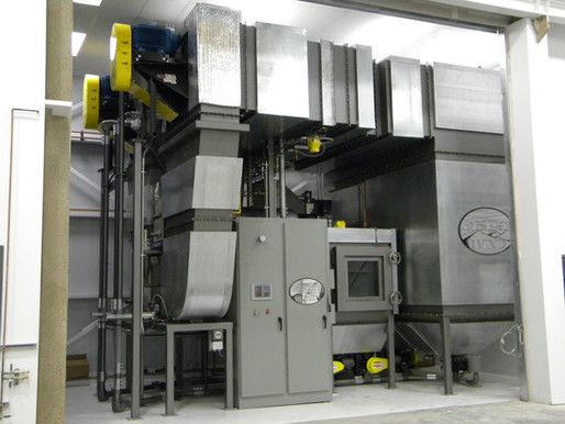 Blowing Sand and Dust Environmental Test Chamber  Advances State-of-the-Art for the U.S. Military