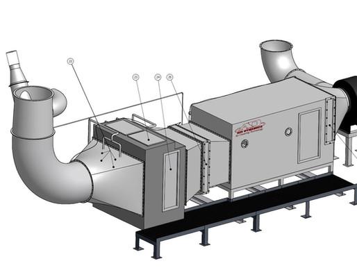 Air Pollution Unit Suits Commercial Kitchen Ventilation