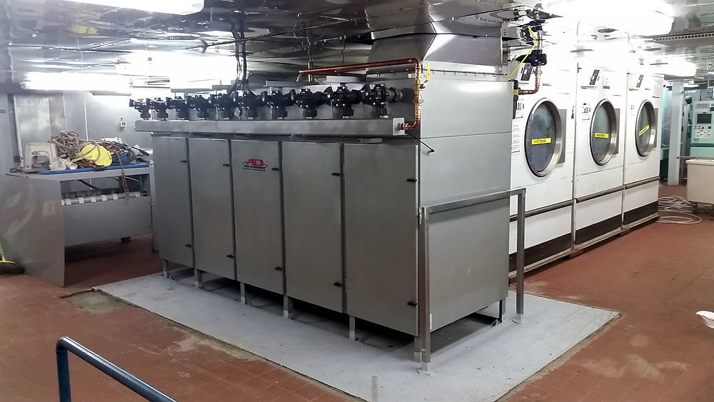 Lint Removal System | Hotel Laundry | Cruiseline