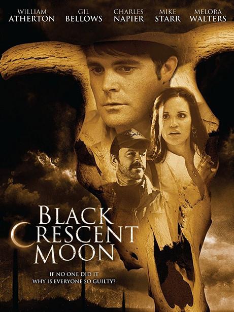 BLACK CRESCENT MOON