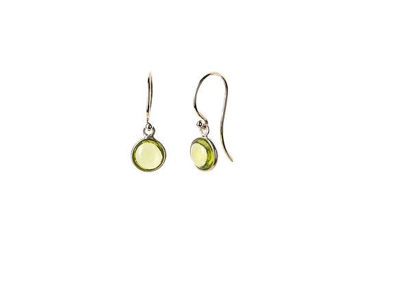 Peridot Natural Gemstone Earrings