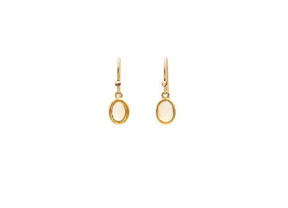 Citrine Natural Gemstone Earrings