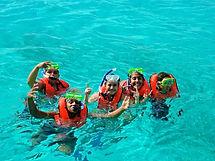kids snorkel florida keys dive donate charity fun summer marine education initiative