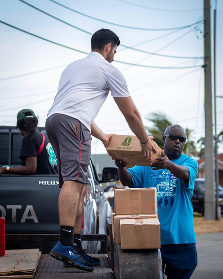 bahamas hurricane disaster relief giving helping donating charity