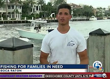 news interview charity giving florida fish donate marine education initiative