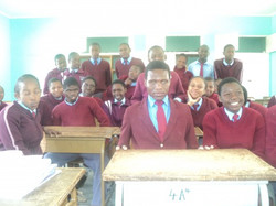 Students in an integrated class