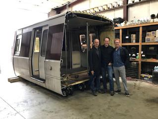 Old Metro car to become vendor kiosks at Grosvenor–Strathmore