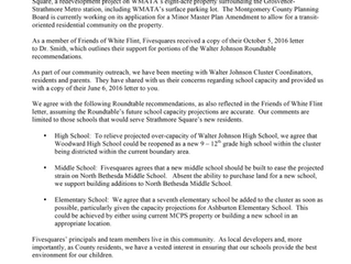 Fivesquares supports recommendations for Walter Johnson Cluster