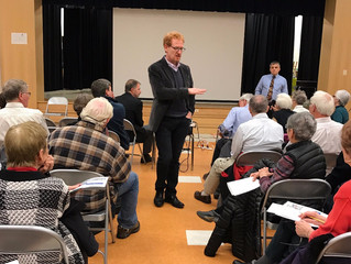 Fivesquares updates community on Strathmore Square at Park & Planning Meeting