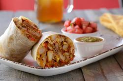 Brisket and Egg Burrito