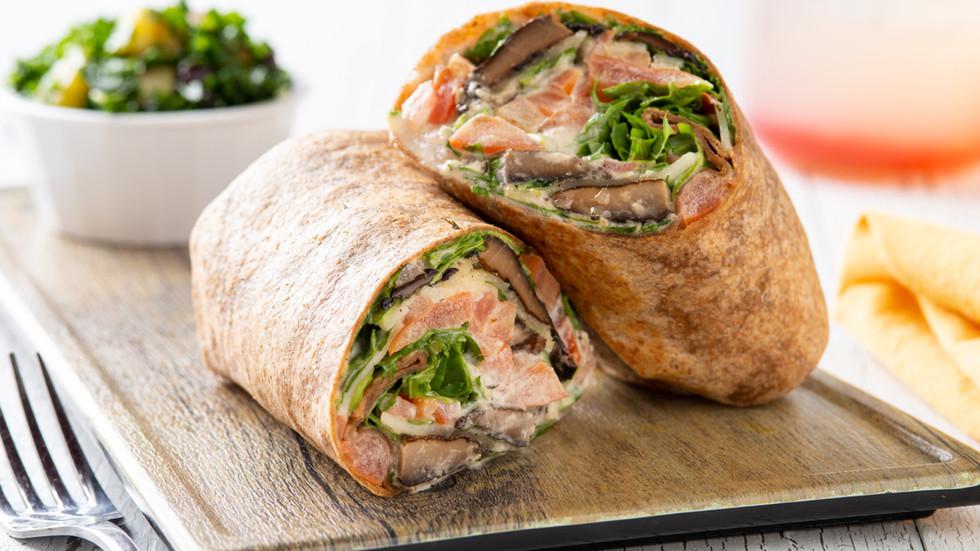 Grilled Portobello Wrap