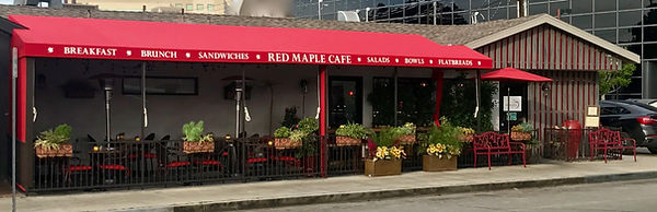 Red Maple Cafe Exterior
