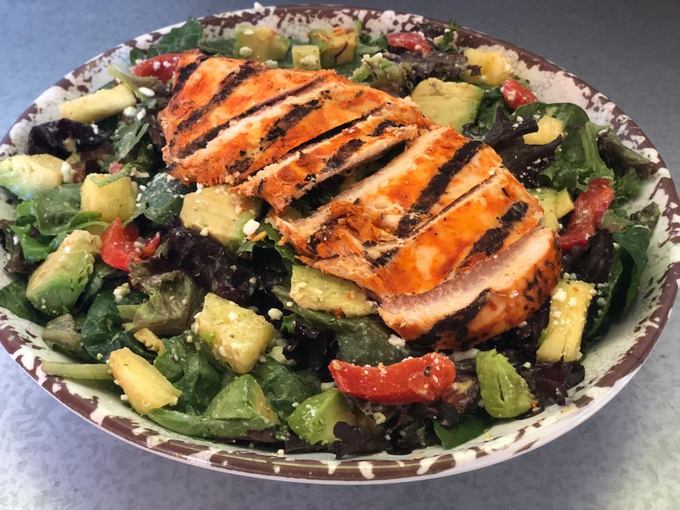 Southwestern Salad w/ Harissa Lime Chicken